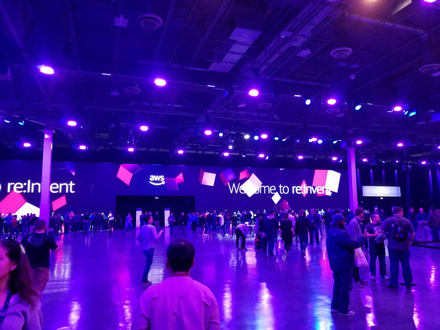 AWS Re:Invent Day 1 thoughts